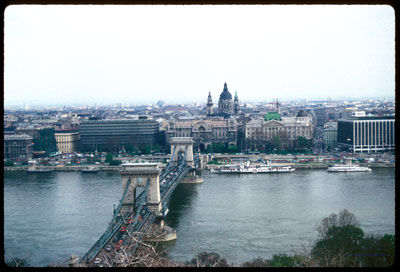 Pest, from the heights of Buda; joined at the Danube. © UrbisMedia