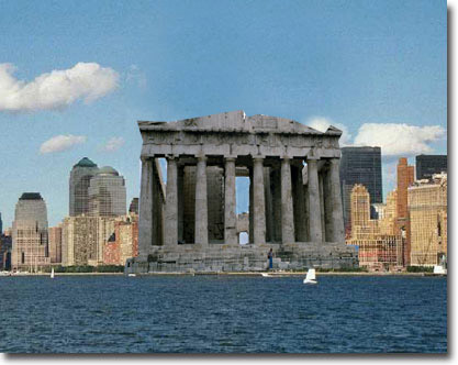 Parthenon on the Hudson.  ©2004 UrbisMedia