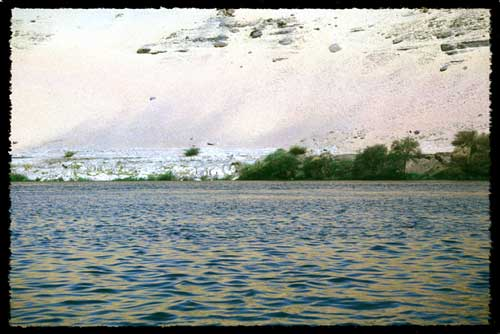 The Nile meets the Sahara                 © 1988 UrbisMedia