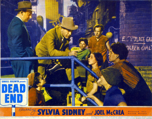 Dead End (1937) Directed by William Wyler Shown: Poster Art