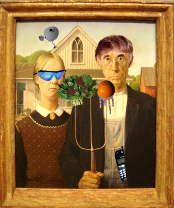 Apologies to Grant Wood from UrbisMedia © 2007
