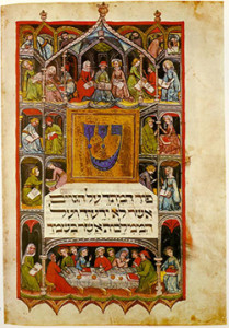 V057-02_3Haggadah_14th_cent