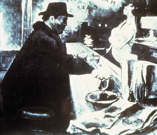 Fig. 5. 26. Winter, William, MIDNIGHT AT CHARLIE'S (1946); Vancouver Art Gallery