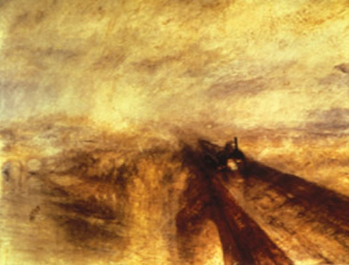 J.M.W. Turner, RAIN, STEAM & SPEED (1844)
