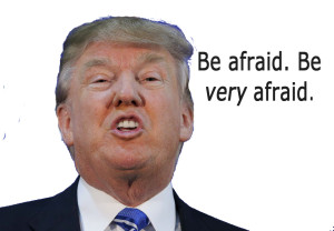 trump afraid